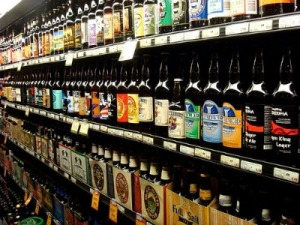 As craft brewers run out of shelf space to conquer from cheap beer, they begin to compete with one another for coveted spots in the refrigerated aisle. *source*: Delish
